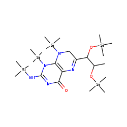 7,8-Dihydro-L-Biopterin, pentakis(trimethylsilyl) derivative