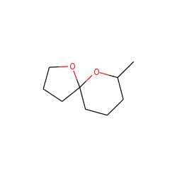 1,6-dioxaspiro [4,5] decane, 7-methyl