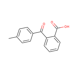 Benzoic acid, 2-(4-methylbenzoyl)-