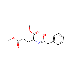 Pentanedioic acid, 2-(phenylacetylamino(, dimethyl ester
