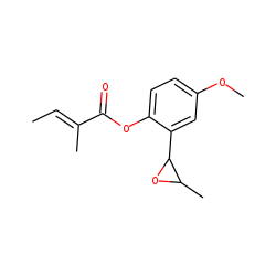 4-Methoxy-2-(3-methyloxiranyl)-phenyl tiglate