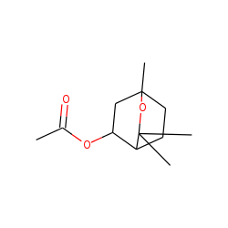 (1S,4R,5R)-1,3,3-Trimethyl-2-oxabicyclo[2.2.2]octan-5-yl acetate