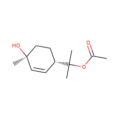 2-((1R,4R)-4-Hydroxy-4-methylcyclohex-2-enyl)propan-2-yl acetate