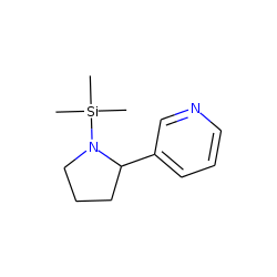 DL-Nornicotine, N-trimethylsilyl-