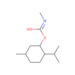 Carbonic acid, monoamide, N-methyl-, menthyl ester