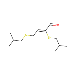 2,4-Bis(isobutylthio)but-2-enal