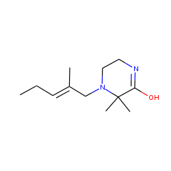 2,2-Dimethyl-1-(2'-methyl-delta^2-pentenyl)-3-piperazinone