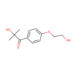 1-Propanone, 2-hydroxy-1-[4-(2-hydroxyethoxy)phenyl]-2-methyl-
