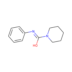 1-Piperidinecarboxamide, N-phenyl-