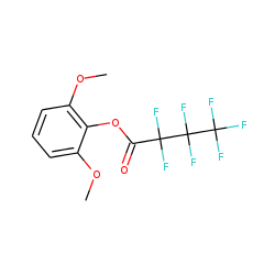 2,6-Dimethoxyphenol,heptafluorobutyrate