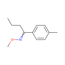 (Z)-N-methoxy-1-(4-methylphenyl)propanimine