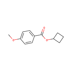 p-Anisic acid, cyclobutyl ester