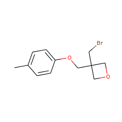 Oxetane, 3-bromomethyl-3-(4-methylphenyloxy)methyl