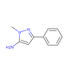 5-Amino-1-methyl-3-phenylpyrazole