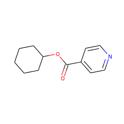 Isonicotinic acid, cyclohexyl ester