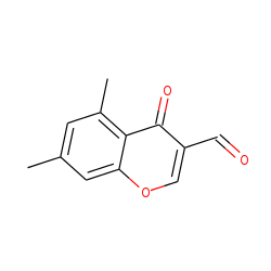 5,7-Dimethylchromone-3-carboxaldehyde