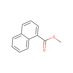 naphthalenecarboxylic acid, methyl ester