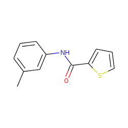 Thiophene-2-carboxamide, N-(3-methylphenyl)-