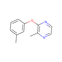 2-(M-methylphenoxy)-3-methyl pyrazine