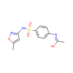 Acetamide, N-[4-[[(5-methyl-3-isoxazolyl)amino]sulfonyl]phenyl]-