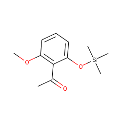 2'-Hydroxy-6'-methoxyacetophenone, trimethylsilyl ether