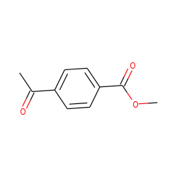 Benzoic acid, 4-acetyl-, methyl ester
