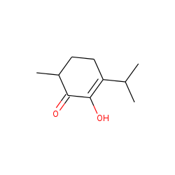 2-Cyclohexen-1-one, 2-hydroxy-6-methyl-3-(1-methylethyl)-