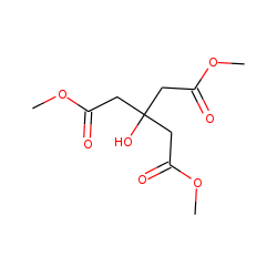 Pentanedioic acid, 3-hydroxy-3-(methoxycarbonylmethyl), dimethyl ester