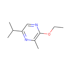 Pyrazine, 2-ethoxy-3-methyl-5-(1-methylethyl)