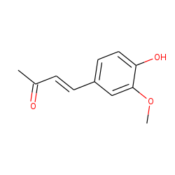 3-Buten-2-one, 4-(4-hydroxy-3-methoxyphenyl)-