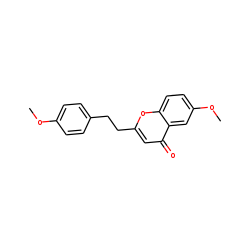 Chromone, 6-methoxy-2-[2-(4-methoxyphenyl)ethyl]