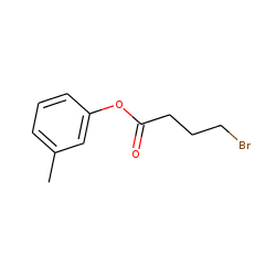 4-Bromobutyric acid, 3-methylphenyl ester
