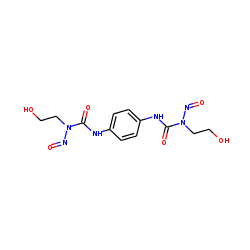 Urea, 1,1'-p-phenylenebis[3-(2-hydroxyethyl)-3-nitroso-