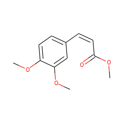 2-Propenoic acid, 3-(3,4,5-trimethoxyphenyl)-, methyl ester, cis