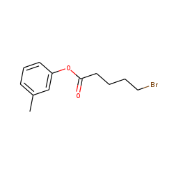 5-Bromovaleric acid, 3-methylphenyl ester