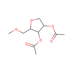 2,3-Di-O-acetyl-1,4-anhydro-5-O-methyl-D-xylitol