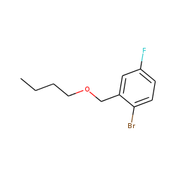 2-Bromo-5-fluorobenzyl alcohol, n-butyl ether